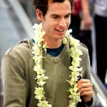 ICYMI: Tennis superstars @andy_murray and @dhantuchova arrived in Manila yesterday.   http://t.co/soTg7CG1AN http://t.co/wzSPgSVhjp