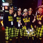 And so it begins! @BoxJBoys hit #Vancouver for #CFL #GreyCup2014... http://t.co/f5ZSEymyB6
