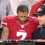 Meanwhile, Colin Kaepernicks barber must have had someone bump his elbow http://t.co/EqhaChvcKG