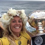The ultimate selfie hahaha what a craZy day!!! Thank you world, so very much!!!!!! @asp #TargetMauiPro @Roxy http://t.co/jScvFl3RPr