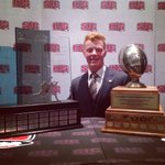 The first-ever winner of both Hec Crighton and Russ Jackson Awards - @buckley_hot8! #GoDinos #WeAreAllDinos http://t.co/I54B3BqRai