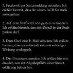 """Für all die schlauen Menschen, die eine *Mimimi* """"AGB-Statusmeldung"""" via #facebook absetzen. Viel Erfolg! http://t.co/loDmMFcdBp"""