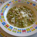 Good morning, wet and chilly in #venice, so we will be cooking Ris & Bisi (Peas and rice soup) http://t.co/KondFVOgHu http://t.co/eES2rpQMVq