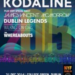 WIN 2 tix to the #NYFDublin Three Countdown Concert w/ @Kodaline . Dec 31st at College Green. RT + follow to enter. http://t.co/LMzUtbp09y
