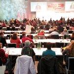 Spö Bunderfrauenkonferenz ...die Quote passt schon mal ... http://t.co/YB6BxoaNIX