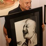 RT @itsBollywood: Pic: @AnupamPkher at launch of John Fernandes coffee table book http://t.co/9hdp2lnGA8