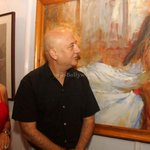 RT @itsBollywood: Pic: @AnupamPkher at launch of John Fernandes coffee table book http://t.co/m6wnPsk29t