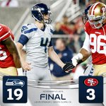 HAPPY THANKSGIVING INDEED! 4 Steve Hauschka FGs lead 19-3 Seahawks win over 49ers. #Thanksgiving #SEAvsSF http://t.co/HqEXDlWadw