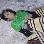 عمر: لو أن بغلة عثرت بالعراق لخشيت أن يسألني الله:لمَ لمْ تسو لها الطريق ياعمر؟ لكن هذه طفلة سورية ماتت برداً بعرسال! http://t.co/Ma2LDXRGs6