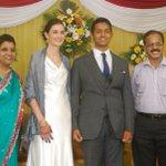 RT @top10cinema: @Dhananjayang at Reporter #AnupamaSubramanian Son Wedding Reception  http://t.co/BrcSblaHgW