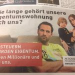 sehr lustig! die glauben doch tatsächlich, junge leute mit kind können sich in österreich eigentumswohnungen leisten! http://t.co/UfBWjdXcQF