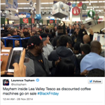 Black Friday: fights break out in Tesco http://t.co/qtLHkFh1UJ http://t.co/xJeERK8d7x
