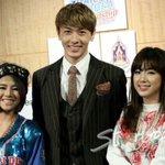 [media pics] @nat_thew & Tiny G-M at Thailand Korea Friendship Festival 2014 press conference. #2 http://t.co/b1k7BIY2RH