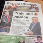 The latest issue of the Watford Observer - out this morning. http://t.co/MsFKKNubYs