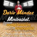 INICIANDO EN LA COMPRENSION DE CONCEPTOS EN MINIBASKET. Formación con Darío Méndez . Aula Técnico-Formativa. 11 dic. http://t.co/rNYAgu9TK3