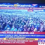This is the response honourable PM is getting in Kashmir with chants of Modi Modi. http://t.co/eucZOurzZk