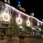UST, you are stunning! #USTMainBuilding #PaskuhanLights2014 http://t.co/jVIDdUz8X3