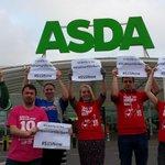 RT .@Socialist_party: SP members in London sending solidarity to #WallMartStikers from WM owned Asda. #BlackFriday http://t.co/xsmDx7L05j
