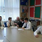 RT @bedwashighsch: A normal day at Bedwas High School, oh yes,  @gareththomas14  dropped by. http://t.co/BfOhlnKg33