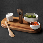 #Giveaway 6: Ambiance 4-piece serving set! RT&follow to #win. Winner chosen at 2pm. #FreebieFriday #BlackFriday http://t.co/BC5Dc55M7E
