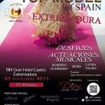 Aún tienes entradas, no te pierdas el certamen en @CasinoExtremadu y la fiesta de después aquí en @GroouchoCopas. http://t.co/D0yVo936l5