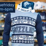 Its #BlueFriday at #GrizzliesDen by @adidas @FedExForum, special store hours 8am-6pm. Door-Busters starting at $5! http://t.co/njsb5oEhxG