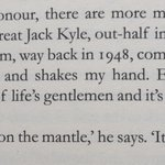 So sorry to hear the sad news about the great Jack Kyle: one of lifes gentlemen @BrianODriscoll http://t.co/MJeHI10o3B