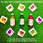 To #win this weeks bad weather busting #FreebieFriday follow @vithitman & @OLOVES_ & RT this pic before 5pm! http://t.co/ILe25KoCMo