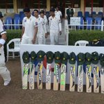 #Pakistan with their tribute to #PhilHughes at @Sharjah #PakvNZ #putoutyourbats http://t.co/Bm8GclpKRi