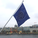 All week, the City of #Geneva has been wearing IOM colours. #IOMCouncil2014 #Geneve @IOM_news http://t.co/BoSnjXUdp0