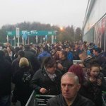 #BlackFriday shopping queues at Asda Walsgrave - pic by reader Stacey Riley. Hows your shopping going? #Coventry http://t.co/ag6yUhPoDo