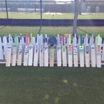 The Ireland Cricket Team but their bats out for Phil Hughes in Dubai this morning #putyourbatout http://t.co/aMV4u1dFae