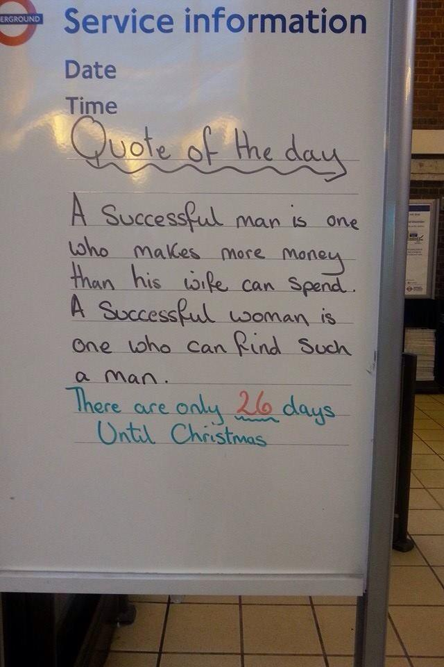"""I normally love the tube messages, but not today, #everydaysexism @TfL  http://t.co/jUFvmmnNkD"""""""