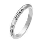 This weeks #FreebieFriday is our motivational Believe sterling silver ring- FLW & RT to #win #competition #giveaway http://t.co/mm3YjDQ3GV