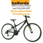 "This week you can #win a Carrera Abyss 26""! Just Follow & RT #BlackFriday #cycling #Bike #competition #giveaway #Free http://t.co/DG2U4Hl8MJ"