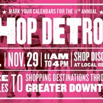 Shop #Detroit encourages local #shopping on #SmallBusinessSaturday http://t.co/TnLE3W6i8A @WeKnowDetroit http://t.co/6rcLYlqHdZ