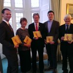 The Boyle family with Dr Jim Browne, President of @nuigalway at opening of  #BoyleArchiveNUIG http://t.co/aiE31W4MW2