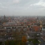 Vanochtend mooi uitzicht vanuit stadskantoor #Schiedam. Goede vergadering gehad met gemeente over schipperszaken. :-) http://t.co/8MCFBhttdw