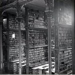 A man browsing for books in Cincinnati's cavernous old main library. http://t.co/c3U7Lj1bjT
