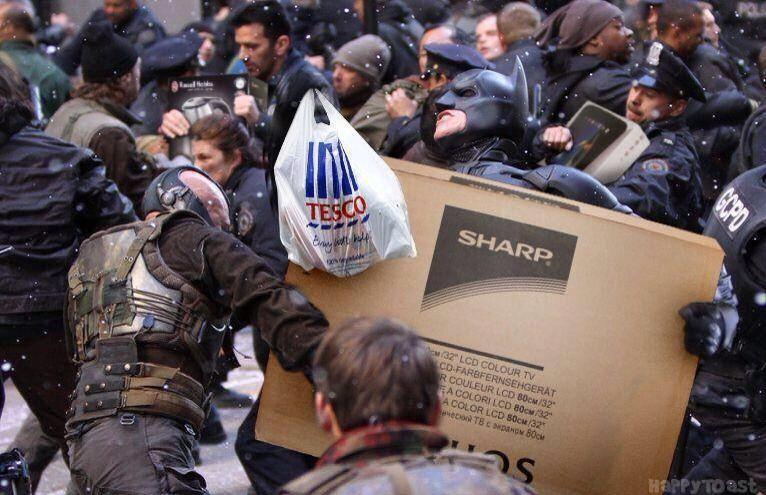 Black Friday in Gotham! http://t.co/29N6K826eY