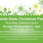 Join Leeds Dads Xmas Party Sun 7 Dec, and see whats Xmas fun for kids in Leeds: http://t.co/Ky9SFBBDa1 @NCTLeeds http://t.co/AKlAr74m1S