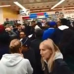 Chaotic scenes at the Wicker Tesco in Sheffield as Black Friday kicked off caught on camera http://t.co/Zco78SbqLm http://t.co/ycEMtFGvJr
