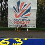 GB Hockey men paying tribute to Phil Hughes this morning at Bisham Abbey #63notout #putoutyoursticks @EnglandHockey http://t.co/dbfD2uyzew