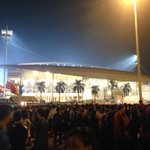 PHOTO: Long lines outside My Dinh Stadium 30 mins before kickoff of Philippines vs Vietnam. http://t.co/Djf7L4BKSp | @cedelfpt #AFFSuzukiCup