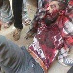وبدأ سقوط الشهداء على يد الانقلابين في #انتفاضة_الشباب_المسلم حسبنا الله ونعم الوكيل . http://t.co/myFMVjHJrh