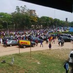 LOOOL Knew OAU students wont take it lightly with Jonathan today.... http://t.co/vYJsceI7Kj