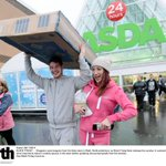 BLACK FRIDAY Shoppers carry bargains from Asda Blyth,,shoppers formed orderly queues unlike the South of the country http://t.co/tn0KfLarNI