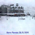 """""""@MeteOrihuela: Hoy ¡Fantástico aspecto de #SierraNevada (#Granada) Imagen: @websierranevada. http://t.co/isSvcU75l3 #turismo"""