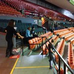 Volunteers are trickling into scotiabank centre as second annual #weday gets ready to kick off! #halifax http://t.co/5aKKcoSsID