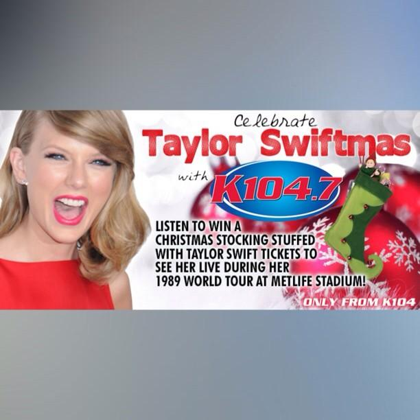 Re-tweet this and you'll be instantly qualified to win a Christmas stocking stuffed with TSwift tickets and swag! http://t.co/4mKzLYZddK